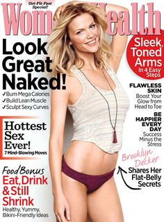 Brooklyn Decker shows off her perfect bod on Womens Health magazine