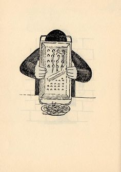 The Far Side: Roland Topor's cheerfully violent illustrations from 'Les Masochistes'   Dangerous Minds