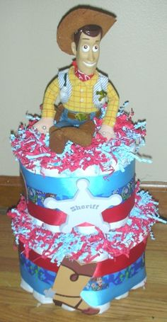 Toy Story Diaper Cake