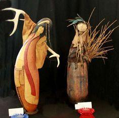 Gourd dolls