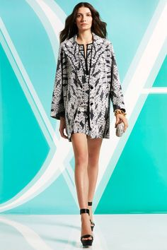 Diane von Furstenberg | Pre-Fall 2014 Collection | Style.com