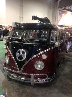 V-Dub Gun Bus. Best of both worlds. Carjacking solved.