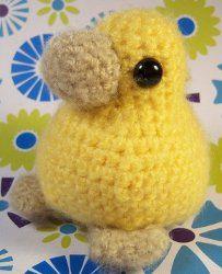 Chick Amigurumi Pattern - free crochet pattern
