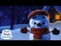 Little Snowflake from Super Simple Songs music, winter, preschool video, simpl song, preschool songs, super simple songs, snowflakes, kid song, christma