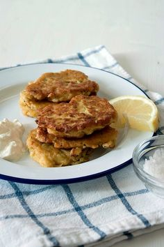 Courgette and Chickpea Fritters