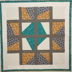 Variable Star Goes Modern Quilt Pattern by Barbara J. Jones of bj ...