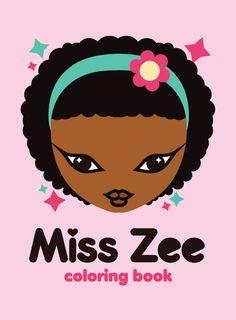 Miss Zee Coloring Book (Digital Download)