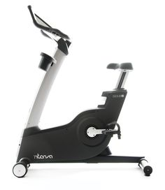 Intenza 550 UBi— LED console lighting illuminates Jog Switch to keep users focused and updated regarding workout progress and results. Smart Workrate™. Exercise in conjunction with a wireless transmitter for accurate hear rate measure. Extensive R+D has informed ergonomic seat design for comfortable workout.