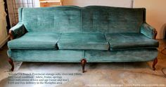 Gorgeous French Provincial vintage sofa for sale $350!
