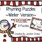 Do your students love Christmas time, yet need to practice rhyme? No need to compromise either way, These puzzles are fun to play!  If you are look...