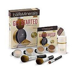 bare escentu, product, bareminer, makeup, start kit, beauti, bonus gift, light, bare minerals