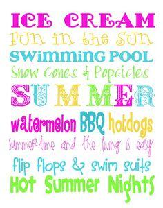 Free Time Frolics: Summertime Free Printable