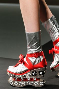 Ugly shoes by Prada