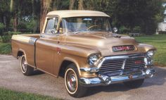 57 GMC  Palomino (very rare)