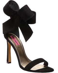 FRISKYY BLACK women's dress high ankle strap