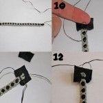 Como hacer pulseras tejidas paso a paso3