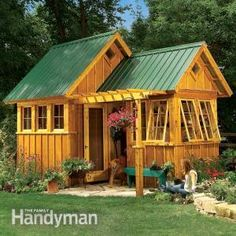 2014 Charming Garden Shed