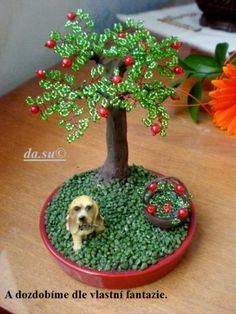 Beaded and Wire Trees on Pinterest | wire trees, bonsai and bonsai tr ...