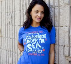 Enchantment Under the Sea - BustedTees (In XL because the shirts are small and then they shrink!)