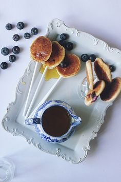 sweet, pancak pop, food, drink, blueberri pancak, yum, pancakes, breakfast pancak, recip