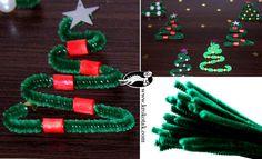 Arbol de navidad limpia-pipas