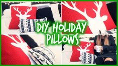 Easy DIY Holiday Pil