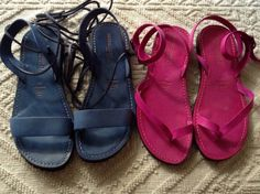 Sandals made in Italy - link: www.sandalishop.it blue, sandal