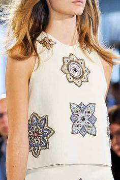 Tory Burch Spring 2014 Ready-to-Wear Detail - Tory Burch Ready-to-Wear Collection