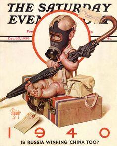 J.C. Leyendecker - New Year Baby 1940