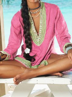 Indian Tunic by Ondademar Swimwear.