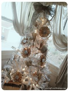 Love this neutral tree (from Counting Your Blessings)