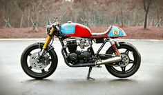 1981 Honda CB650 'The Tricore' - Studio Motor - Inazuma Cafe Racer car, bike, studios, wheel, studio motor, honda cafe, motorcycl diari, honda cb650 1981 cafe racer, cafe racers