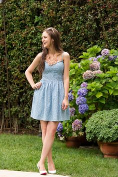 Loving this chambray dress!