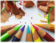 How to sharpen a colored pencil