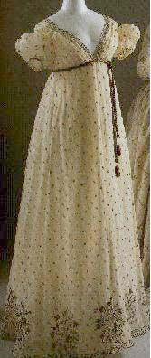 Evening Dress, c. 1810