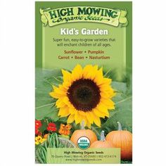 Give the gift that grows! This collection of High Mowing seeds arrives in a sturdy recyclable craft box with tip sheet featuring fun facts and growing information.