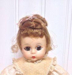 Madame Alexander-kins Tag Amy Little Women Pre-1963 8 Inch Bent Knee Walker AO