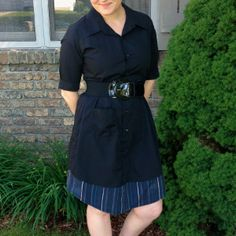Surprisingly Simple Upcycled Dress