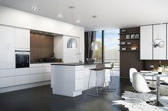 Unik hvid more kitchens hvid og svane unik med hvid hos svane dining