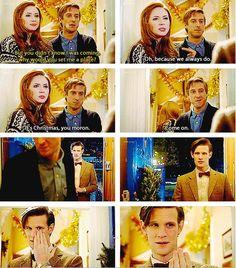 When The Doctor finally understood tears of joy.
