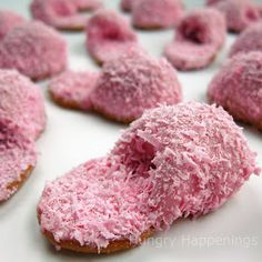 How to make Pink Fuzzy Slipper Cookies out of Nutter Butters.Would be cute for Mother's Day! #food #yummy #delicious