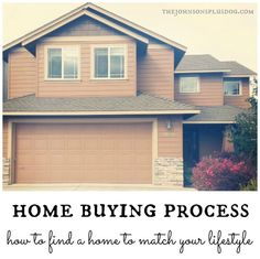 home buying process: