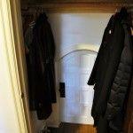 Hidden Door to Kid's Hideout in Closet