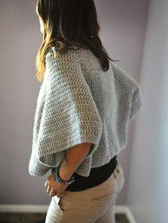 poncho/bolero #crochet