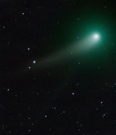 Adam Block at Mount Lemmon Observatory captured this beautiful image of Comet C/2012 K1 Pan-STARRS on May 5, 2014.
