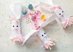 Icing Designs: DIY Bunny Candy Poppers