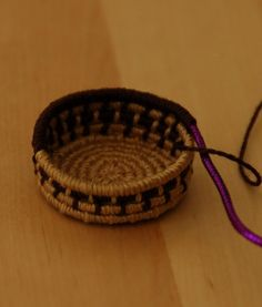 how to: coiled basket