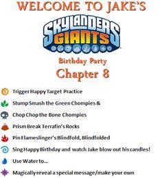 Skylanders Party Games inspired by Pinterest at Skylands and Beyond