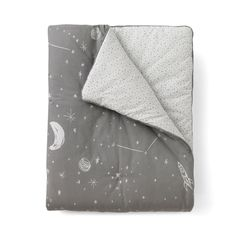 Galaxy Play Blanket | Our soft play blankets are perfect anywhere - from the playroom floor to a toddler bed.