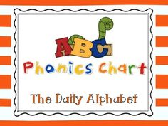 ABC Phonics Chart {{Freebie}} This ABC Phonics chart is great for students who are learning about the sounds that each letter makes. This can be used as a whole class review, intervention activity, and can also be sent home for additional practice.  Grade Level(s): Pre-K, Kindergarten, First, Second